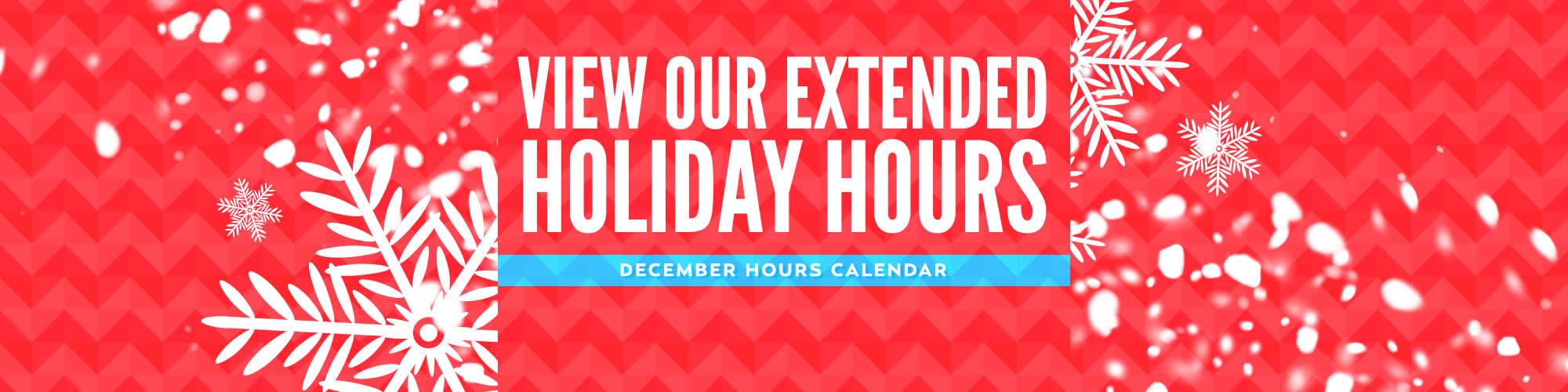 Destiny USA Holiday Hours 2014
