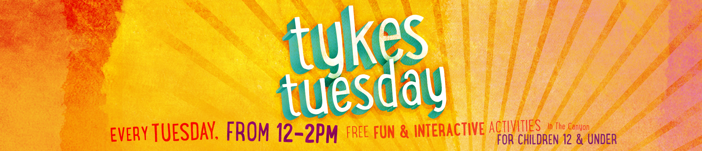 Tykes Tuesdays