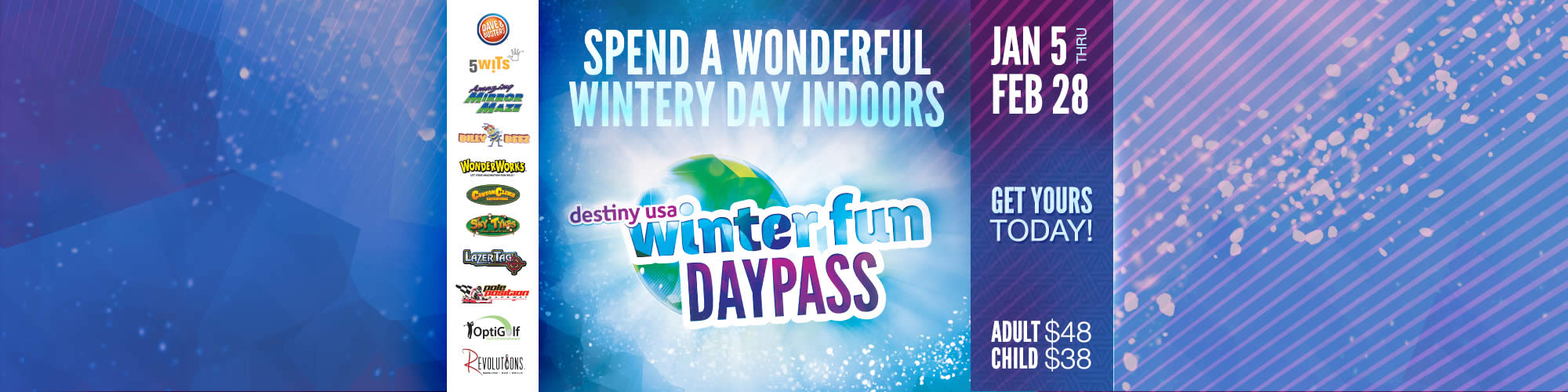 Winter Fun Day Pass