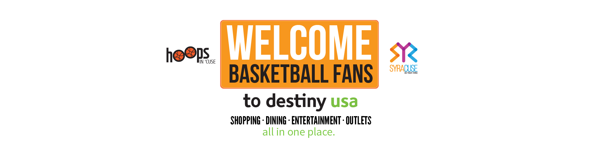 Welcome Basketball Fans