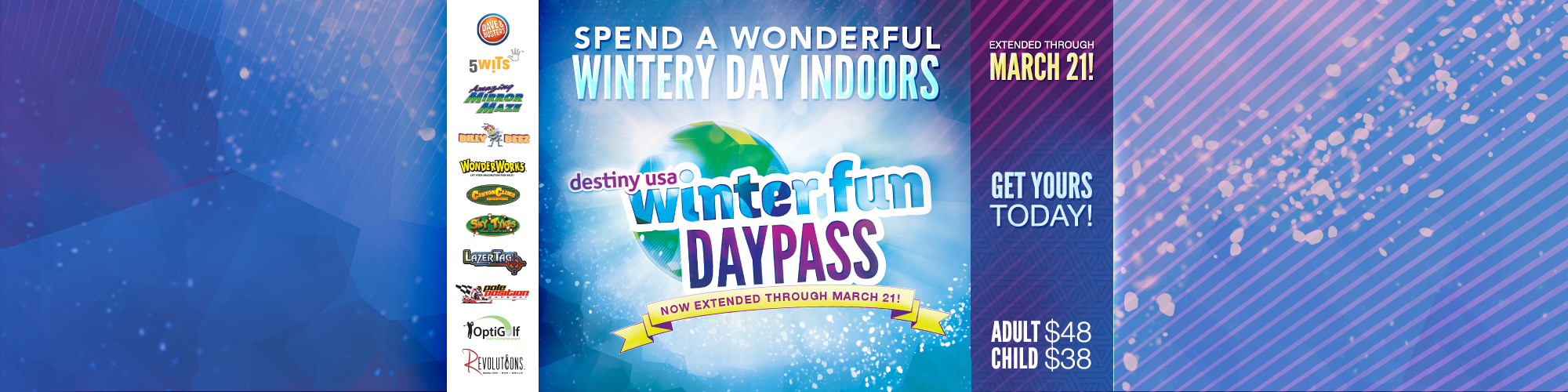 Winter Fun Day Pass