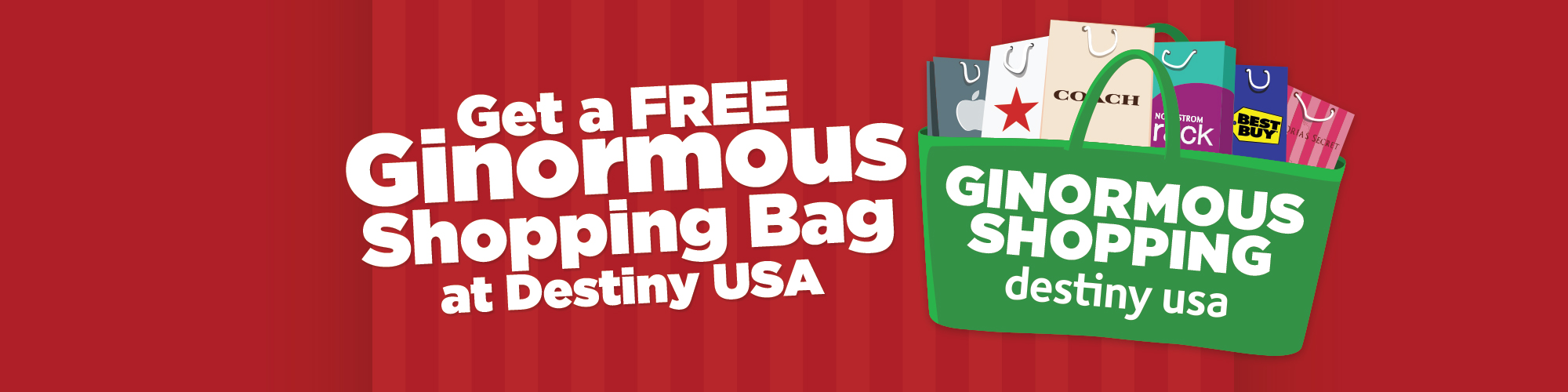 Ginormous Shopping Bag Giveaway