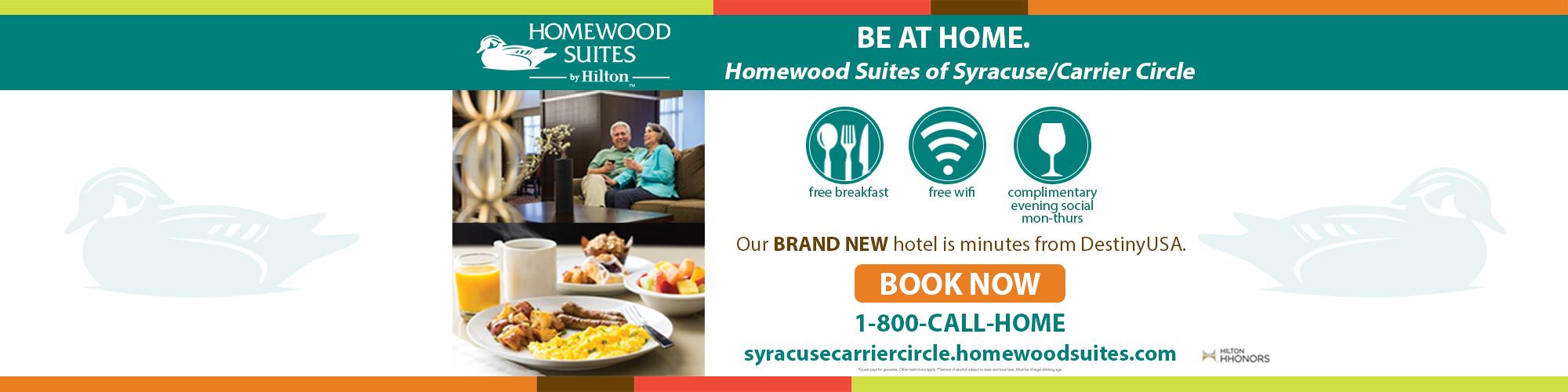Homewood Suites Slider Banner