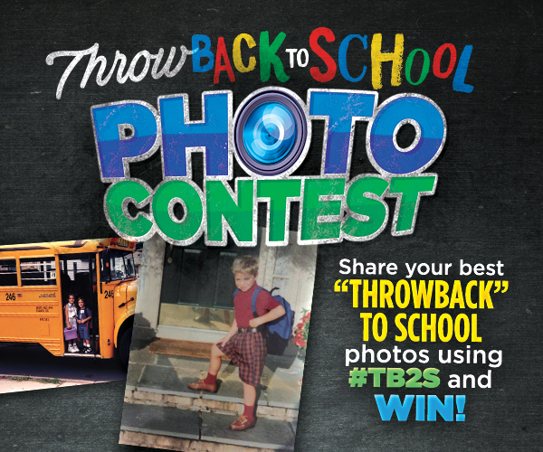 Throwback-to-School Photo Contest!