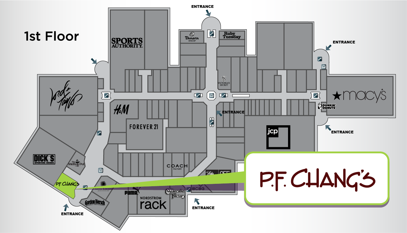 PF Changs Destiny USA – Destiny Usa Mall Floor Plan