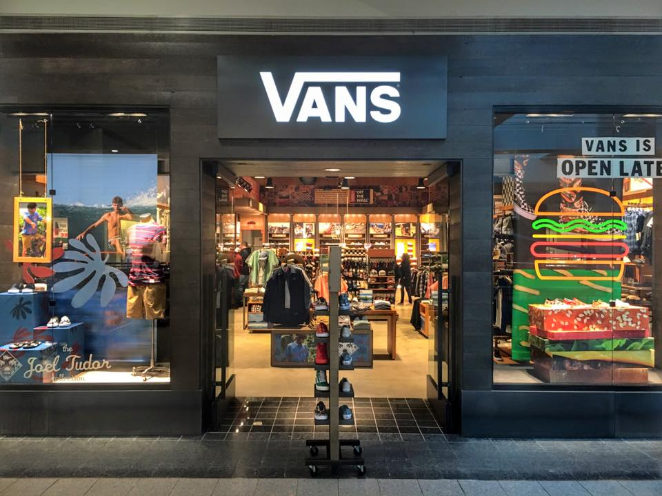 action sports footwear company vans now open at destiny usa destiny usa. Black Bedroom Furniture Sets. Home Design Ideas