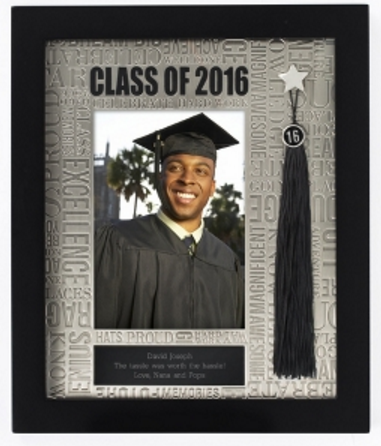 Personalized Picture and Tassel Frame