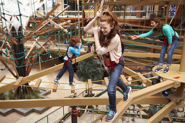 Duestiny USA WonderWorks Ropes Course