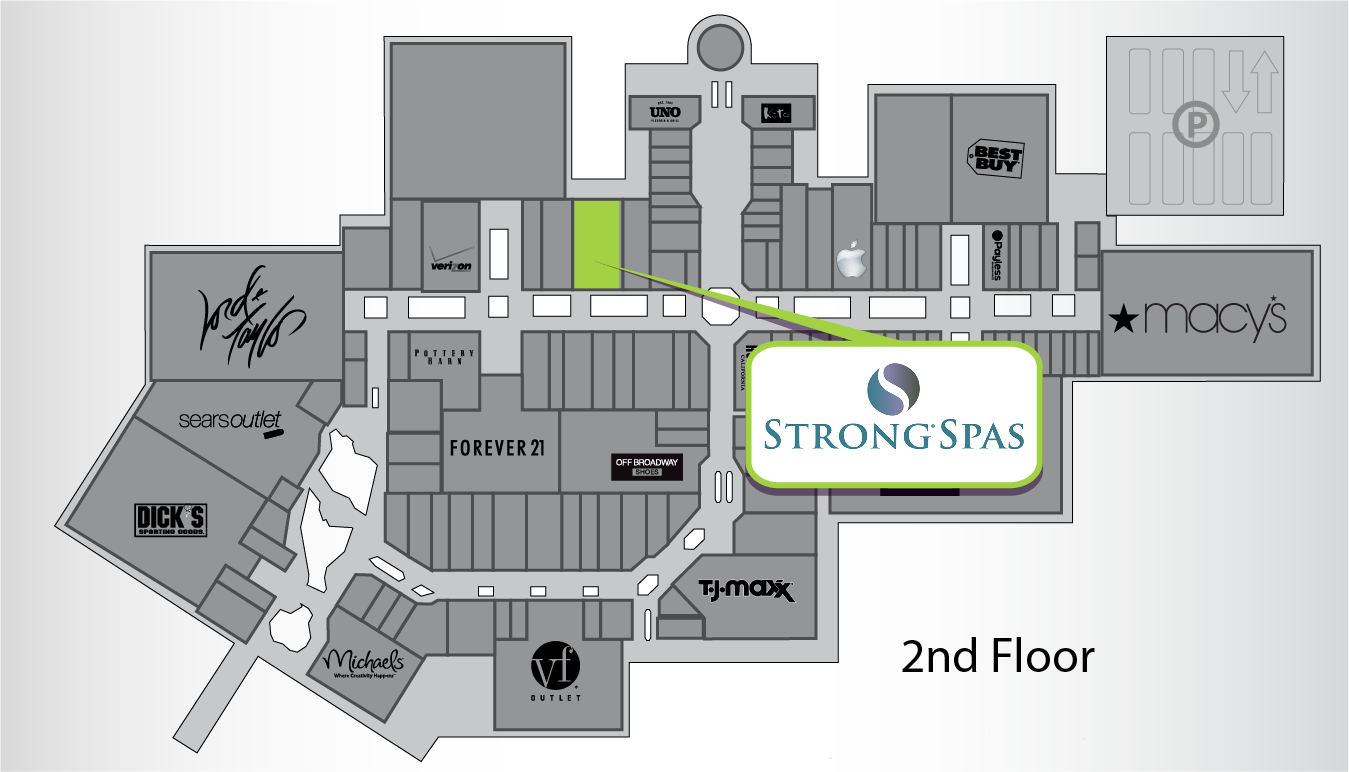 Strong Spas Store Location