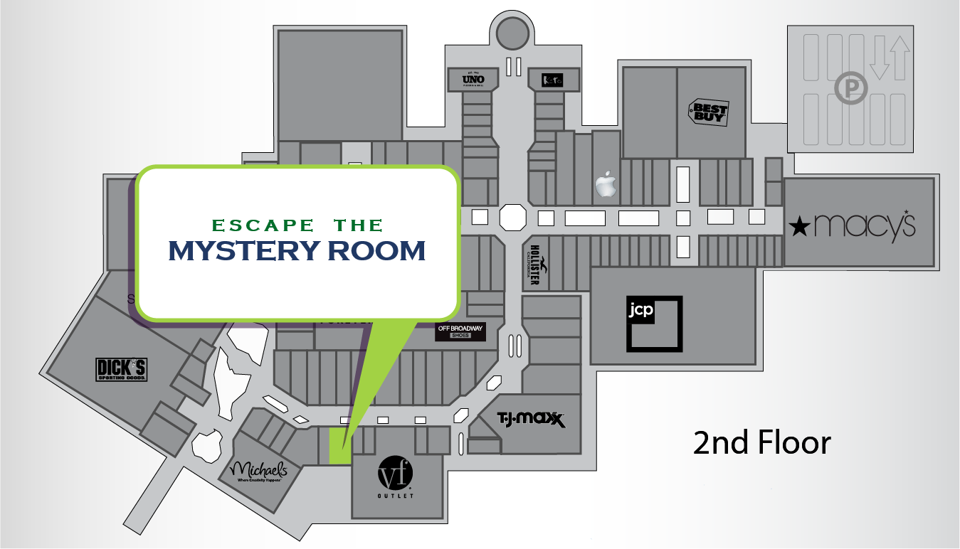 Mystery Room Store Location