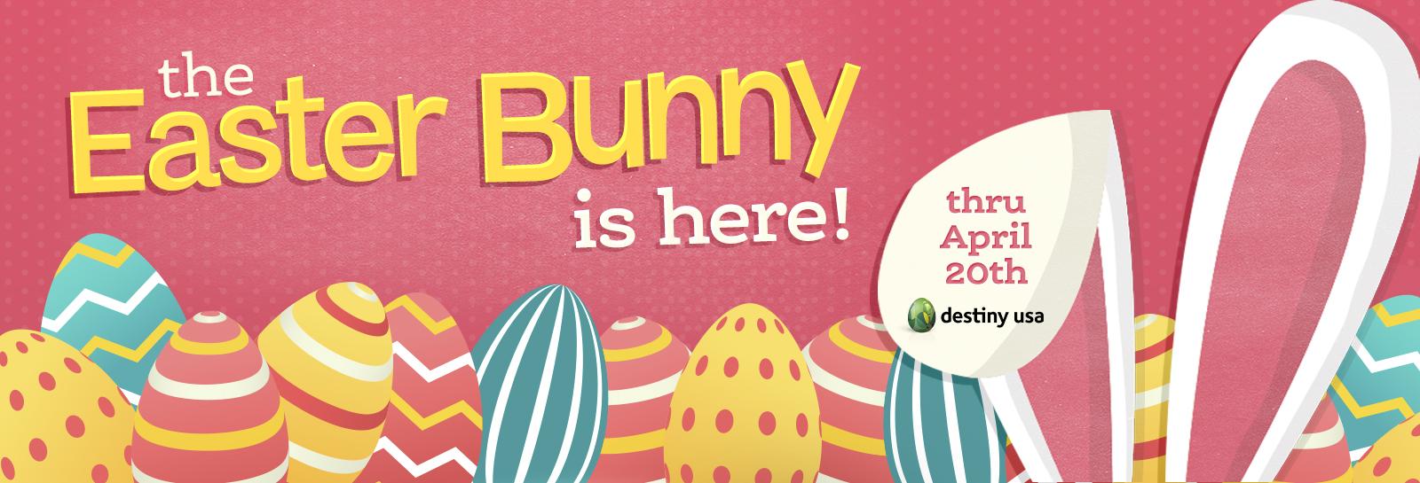 2019 Easter Bunny Arrival Homepage Slider Here