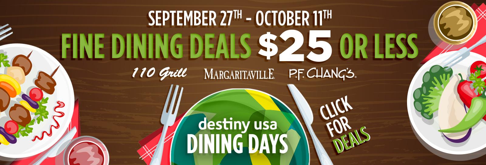 2020 09 22 dining days slider