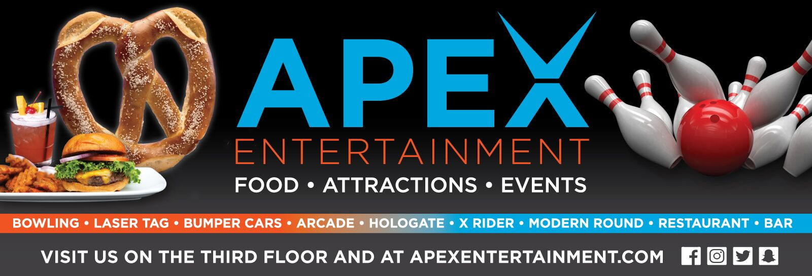 Apex Entertainment Slider