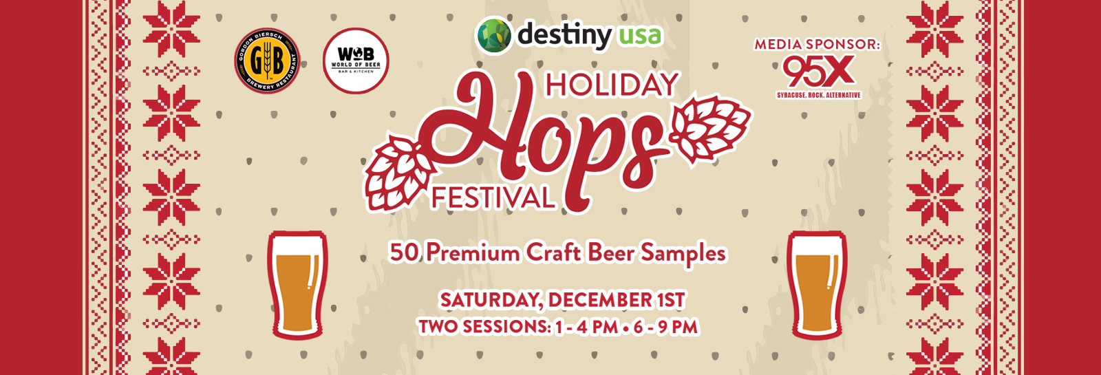 Holiday Hops Website Ad