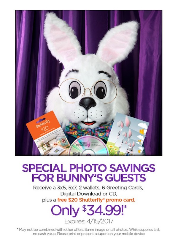Your easter weekend at destiny usa destiny usa stop by the canyon this week to get your photos taken with the easter bunny before its too late negle Gallery