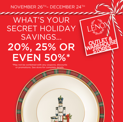 What S Your Secret Holiday Savings Save 20 25 Or Even 50 Destiny Usa