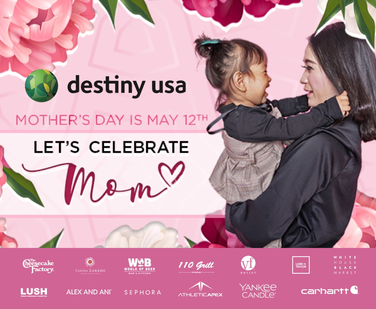 2019 Emailer mothers day DUSA