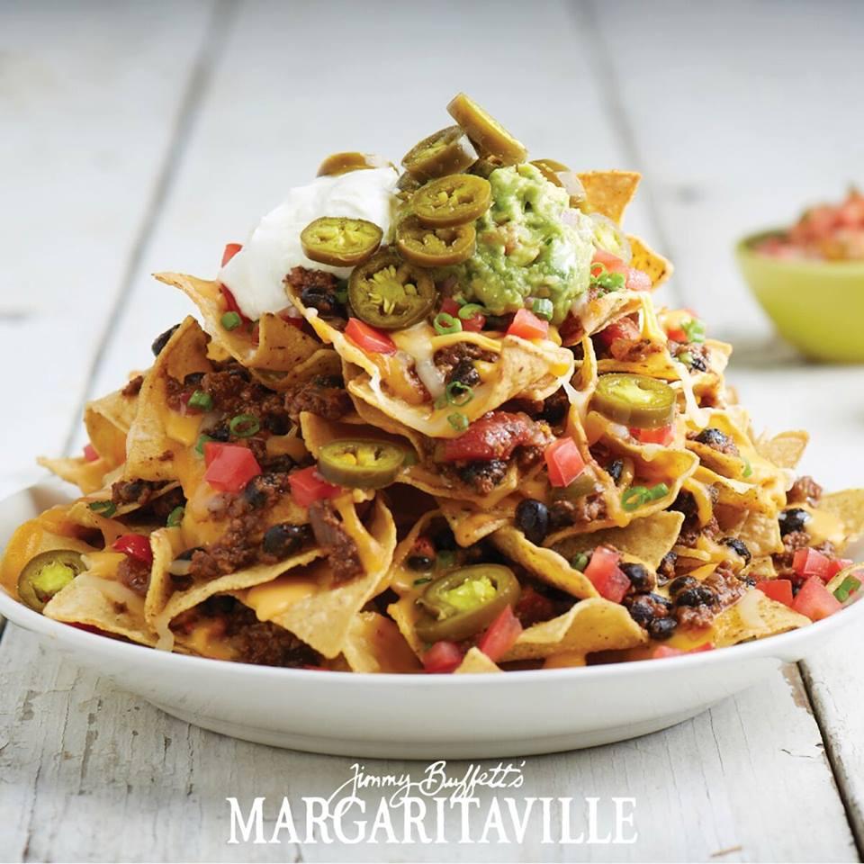 Margaritaville volcano nachos