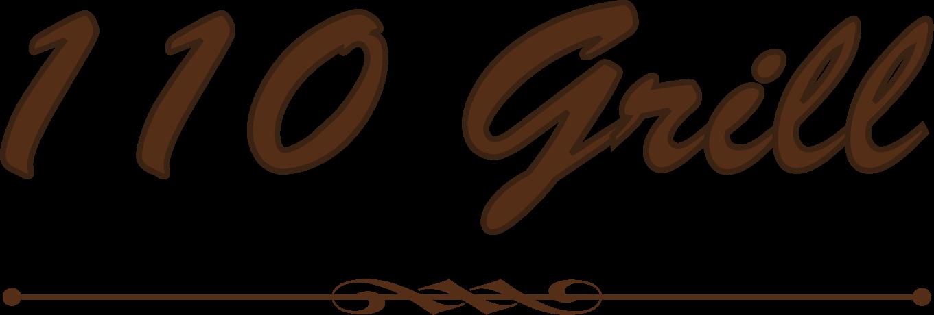 110 Grill Final Logo No Back Tagline