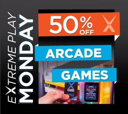 Extreme Play Monday Apex Entertainment