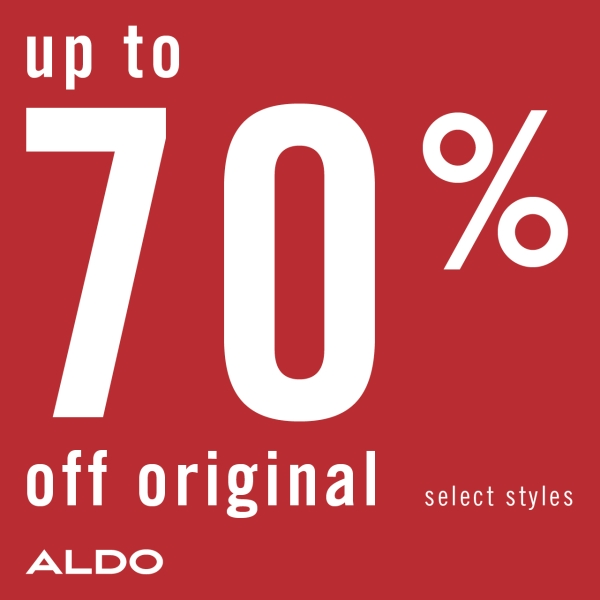 ALDO End of Season Sale Up to 70 off 600x600 EN