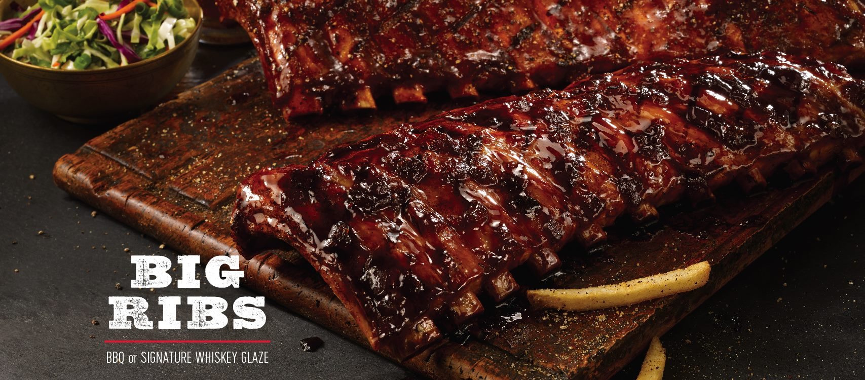 Fridays Whiskey Glazed Ribs