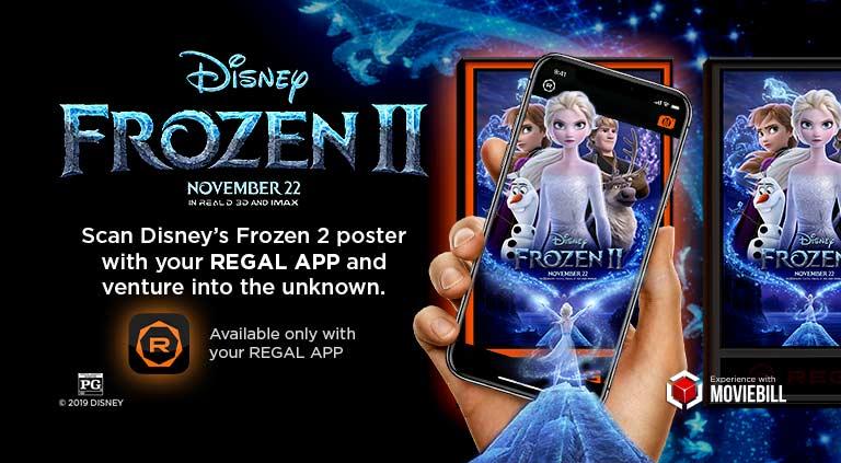 Frozen AR mobile