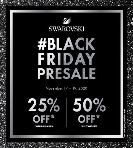 Black Friday Pre-Sale for Swarovski Club Members - Palisades Center